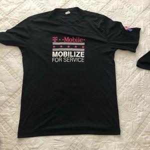 Tmobile for Service shirt.